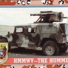 Desert Storm Trading Card Topps 1991 2nd Series HMMWV The Hummer