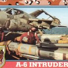 Desert Storm Trading Card Topps 1991 2nd Series A6 Intruder