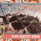 Desert Storm Topps 1991 Trading Card 2nd Series M60s Reactive Armor