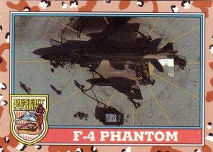 Desert Storm Topps 1991 Trading Card 2nd SeriesF4 Phantom