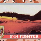 Desert Storm Topps 1991 Trading Card 2nd Series F14 Fighter