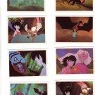 Fern Gully Trading Cards The Last Rainforest #29, 33, 51, 48, 81, 52, 87, 13  Dart Flipcards 1992