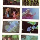 Fern Gully Trading Cards The Last Rainforest #58, 62, 76, 83, 85, 86, 87, 88  Dart Flipcards 1992