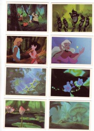 Fern Gully Trading Cards The Last Rainforest #58, 62, 76, 83, 85, 86, 87, 88  Dart Flipcards 1992