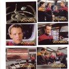 Star Trek Voyager Trading Cards 1995  Cards #13 - 18