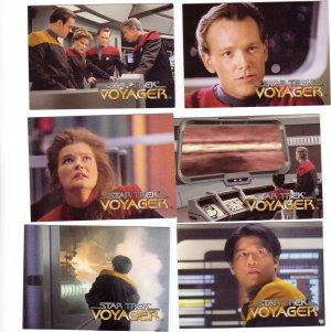 Star Trek Voyager Trading Cards 1995  Cards #16 - 21