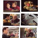 Star Trek Voyager Trading Cards 1995  Cards #1, 7, 8, 9, 10, 11