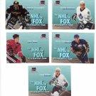 Trading Cards 95/96 SKYBOX Hockey 5 INSERTS NHL on FOX
