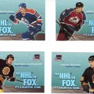 Trading Cards 95/96 SKYBOX Hockey 4 INSERTS NHL on FOX