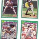 Boston Red Sox Baseball Trading Cards Lot of 4 Score 1991