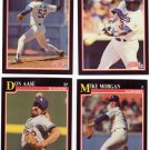 Baseball Trading Cards Los Angeles Dodgers Lot of 4 Score 1991