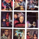 Star Trek Trading Cards Skybox 1993 Cards #44 thru 52