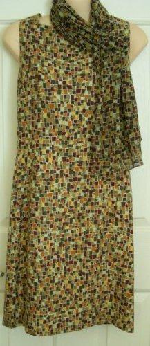 Ann Taylor Multi-Color Shift Dress, Size 6