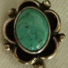 Vintage 1960's Navajo Silver and Turquoise Stck Pin