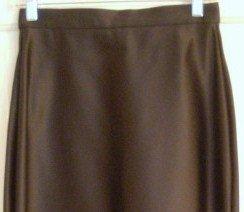 Tadashi Long Black Formal Evening Skirt, Size 6