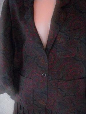 Elizabeth Arden Italian Paisley Skirt (Sz 10) Suit Jacket (Sz 14)