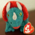 Hornsly the Triceratops: Retired Ty Beanie Baby