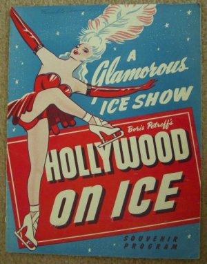 Vintage 1948 First Edition Boris Petroff's HOLLYWOOD ON ICE Souvenir Program