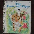 Little Golden Book The Pussycat Tiger, HC, 1975
