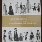 Souvenir Program, Mozart And The Puppets of Salzburg, 1960's-1970's.
