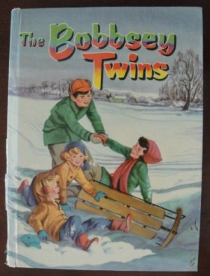 """The Bobbsey Twins: Merry Days Indoors and Out"" by Laura Lee Hope, HC, 1950, Celluloid"