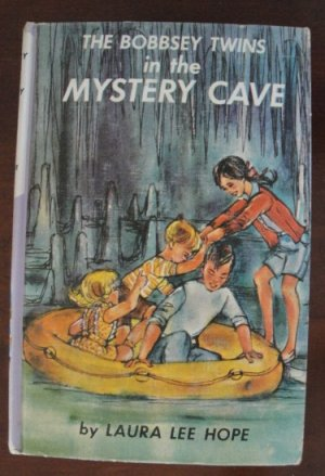 """The Bobbsey in the Mystery Cave"" by Laura Lee Hope, HC, 1960"