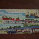 New America Motor Lodge & Coffee Shop, Salt Lake City, Utah, Linen Postcard Post Card, Unused
