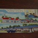New America Motor Lodge & Coffee Shop, Salt Lake City, Utah, Linen Postcard Post Card, Unused
