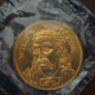 Wild Bill Hickok Husky Oil Token, Sealed, UNC
