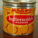 Vintage Small REED'S Butterscotch Patties Tin