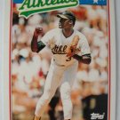 1988 Topps Mini Baseball Card, Dave Stewart, Athletics