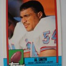 1990 Topps, Football Card, Al Smith,  Oilers