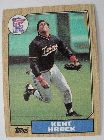 1987 Topps, Baseball Card, Kent Hrbek,  Twins