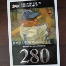2007 Topps Home Run  History Baseball Card, Josh Gibson, Crawfords / Grays