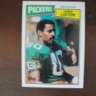 1987 Topps Football Card, James Lofton, Packers