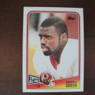 1988 Topps All Pro Football Card, Darrell Green, Redskins