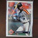 1992 Leaf Baseball Card, Ken Caminiti, Astros