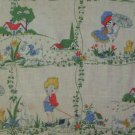 Vintage  Barkcloth Fabric by VAT Prints
