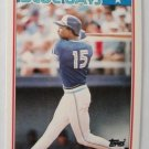 1988 Topps Mini Baseball Card, Lloyd Miseby, Blue Jays