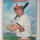 1987 Topps Rookies Baseball Card, Billy Ripken, Baltimore Orioles