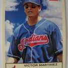 2005 Fleer/Skybox Baseball Card, Victor Martinez, Indians