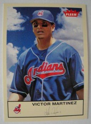 2005 Fleer/Skybox Baseball Card, Victor Martinez, Indians