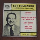 Vintage 1950's Concerto by Guy Lombardo and His Royal Canadians,  45 RPM