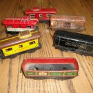 "Vintage Marx ""O"" Scale Tin Trains, Lot of 6"