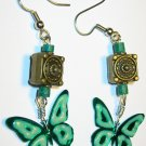 Glow-in-the-dark Butterfly earrings