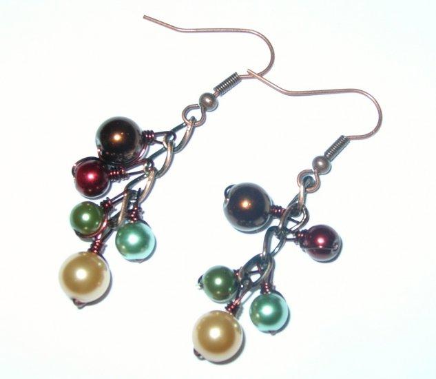 Earth Tone Fall earrings