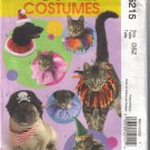 M5215 McCalls Costumes-Pet Hats & Collars