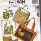 M4402 McCalls Fashion Accessories-Handbags & Totes