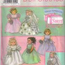 "5266 Simplicity Sweet Memories Doll Clothes 18"" Dolls"
