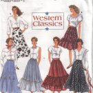 8193 Simplicity Western Classic Skirts 6-10